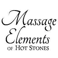 Massage Elements Of Hot Stones