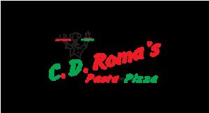 C.D. Roma's Pasta & Pizza logo
