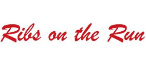 Ribs on The Run logo