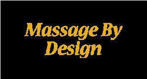 Massage By Design logo