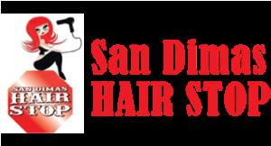 San Dimas Hair Stop logo