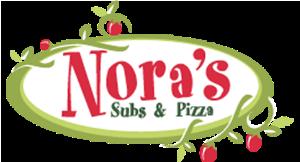 Nora's Subs & Pizza logo