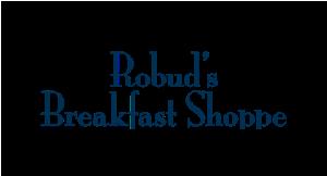 Robud's Breakfast Shoppe logo