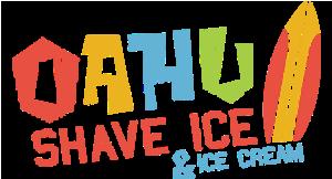 Oahu Shave Ice & Ice Cream logo