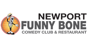 Newport Funny Bone on The Levee logo