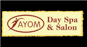 Ayom Day Spa & Salon logo