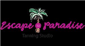 Escape to Paradise Tanning Studio logo