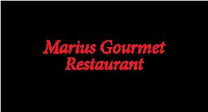 Marius Gourmet Restaurant logo
