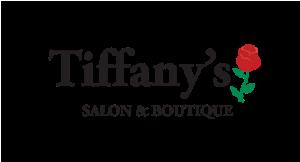 Tiffany's Salon and Boutique logo