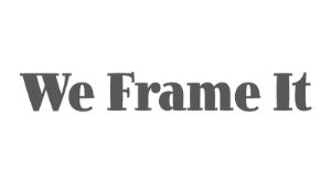 We Frame It logo