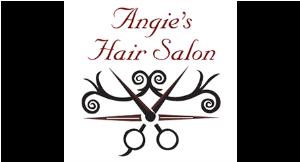 Angie's Hair Salon logo