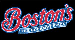 Boston's The Gourmet Pizza logo