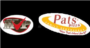 Mvp Sports Lounge at Pat's Pizza logo