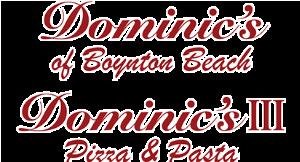 Dominic's Pizza & Pasta (Lake Worth & Boynton) logo