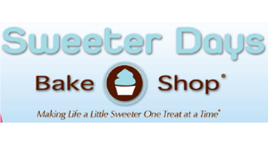 Sweeter Days Bake Shop logo