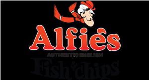 Alfie's Fish & Chips logo