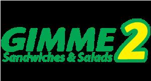Gimme 2 Sandwiches & Salads logo
