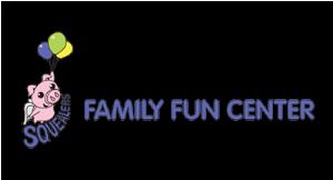Squealer's Family Fun Center logo
