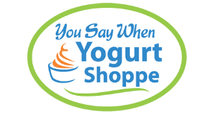 You Say When Yogurt Shoppe logo