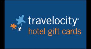 Travelocity Hotel Gift Card logo