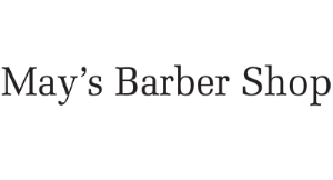 May's Barber Shop logo