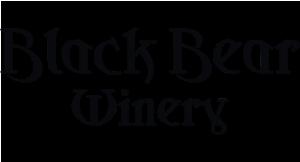Black Bear Winery logo