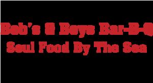 Bob's and Boys Bar-B-Q Soul Food By The Sea logo