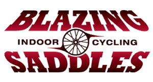 Blazing Saddles Indoor Cycling logo
