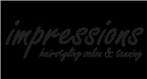 Impressions Hairstyling Salon &Tanning logo
