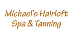 Michael's Hairloft Spa & Tanning logo