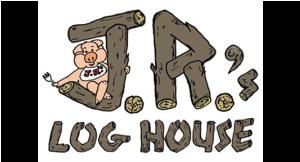 Jr's Log House logo