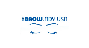 The Brow Lady logo