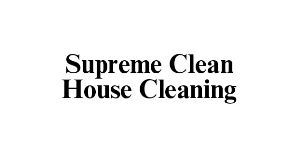 Supreme Clean House Cleaning logo