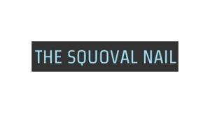The Squoval Nail logo