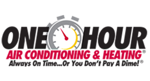 One Hour Heating and Air logo