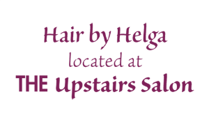 Hair By Helga (Located at The Upstairs Salon) logo