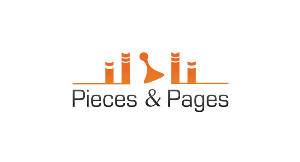 Pieces & Pages logo