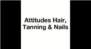 Attitudes Hair, Tanning and Nails logo