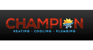 Champion Heating, Cooling and Plumbing logo