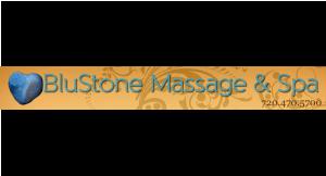 Blustone Massage & Spa logo