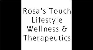 Rosa's Touch Lifestyle Wellness & Therapeutics logo