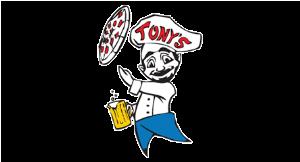 Tony's Pizza & Gyros logo