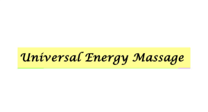 Universal Energy Massage, LLC logo