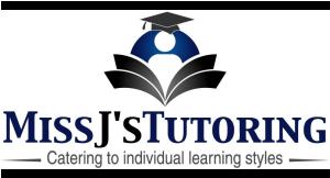 Miss J's Tutoring logo
