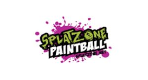 Splat Zone Paintball logo