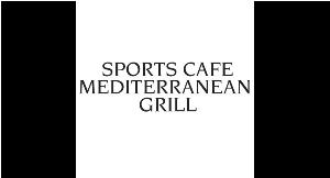 Sports Cafe Mediterranean Grill logo