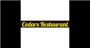 Cedars Restaurant and Pizzeria logo