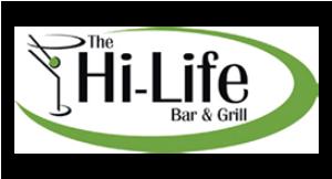 The Hi-Life Bar & Grill logo