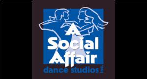 A Social Affair Dance Studios logo