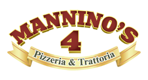 Mannino's 4 Pizzeria logo